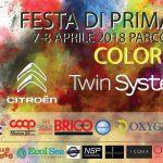 FESTA DI PRIMAVERA COLOR PARTY 2018 AL PARCO UDITORE - PALERMO
