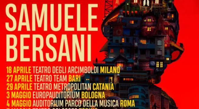 Samuele Bersani: il suo concerto fa tappa in Sicilia