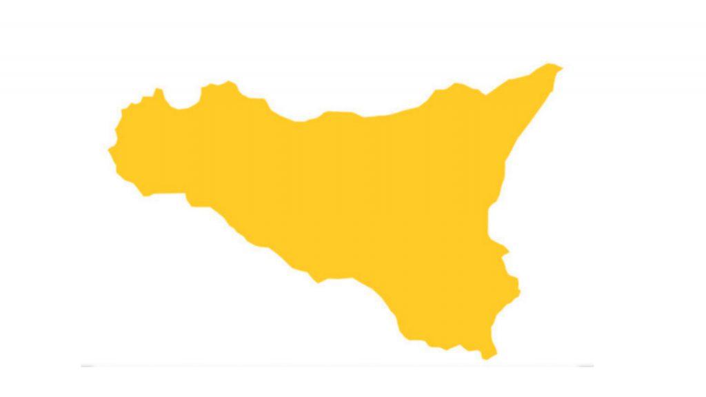covid sicilia gialla