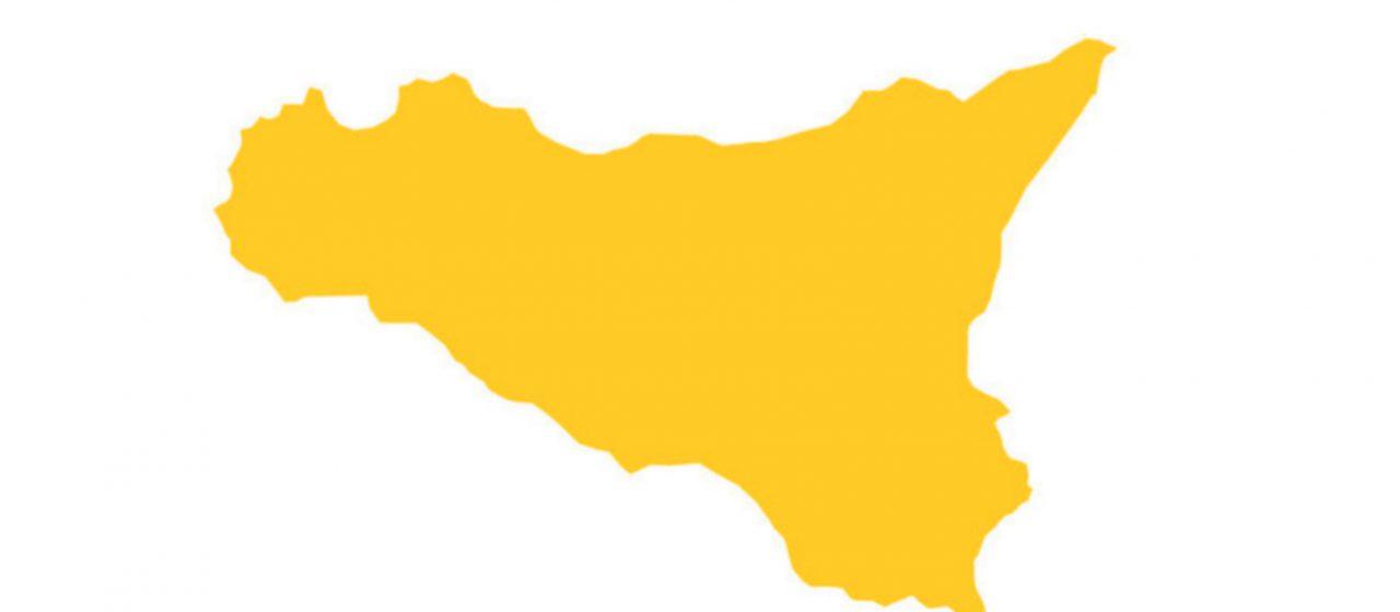 Covid-19, la Sicilia si colora di giallo