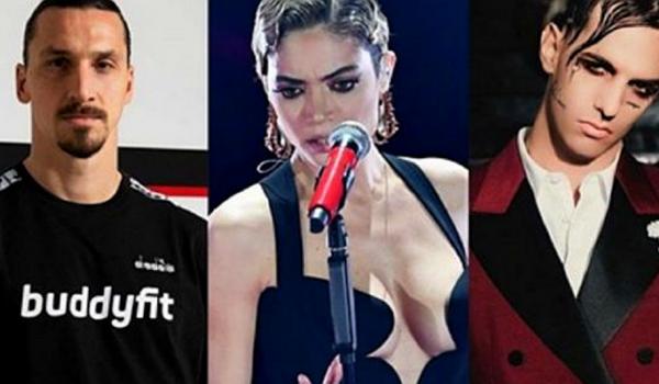 Sanremo 2021: sul palco Achille Lauro, Elodie e Ibrahimovic