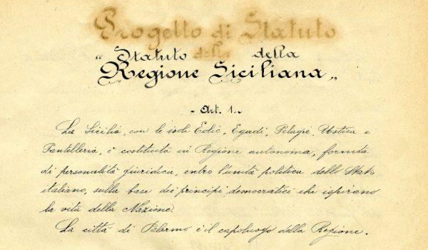 Attiva Sicilia: «Rischio default, lo Statuto Siciliano deve essere applicato»