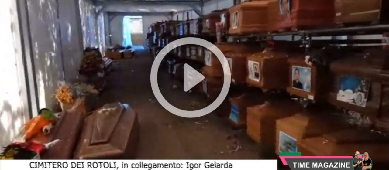 Emergenza Cimiteri a Palermo: le immagini sconvolgenti dal cimitero dei Rotoli (VIDEO)