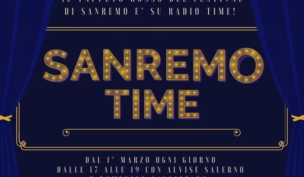 Sanremo Time, da lunedì 1 marzo raccontiamo il Festival on air