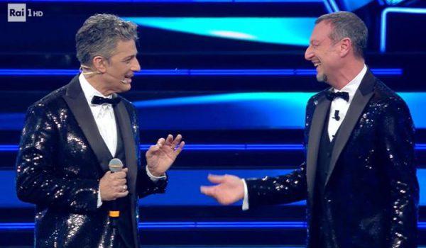"""Sanremo 2021, il Festival di """"Patato""""(Ama) e """"Amorino""""(Fiorello)"""