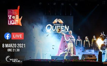 Miracle-Italian Queen Tribute Band in concerto: appuntamento su Radio Time!
