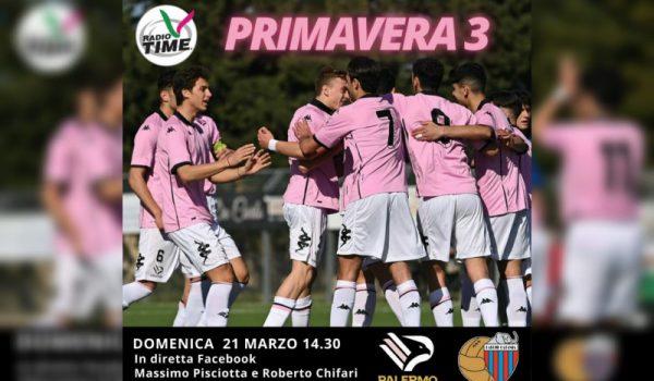Primavera, derby Palermo-Catania: la telecronaca Pisciotta-Chifari su RadioTime