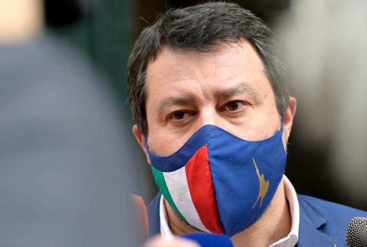 Caso Open Arms: Matteo Salvini rinviato a giudizio a Palermo