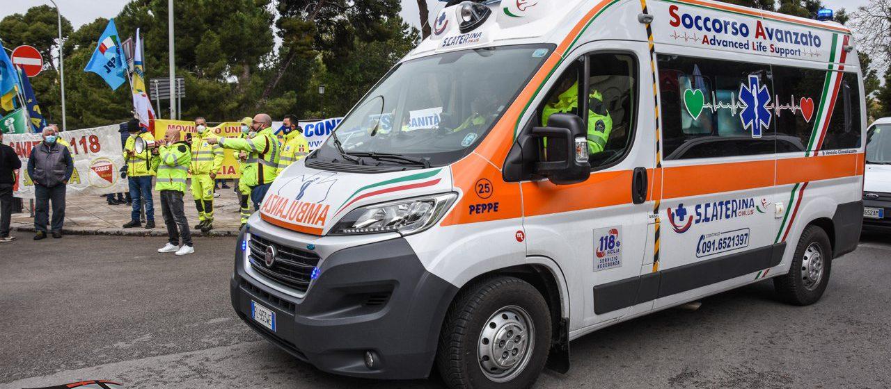 118, i professionisti del soccorso chiedono maggiori dritti