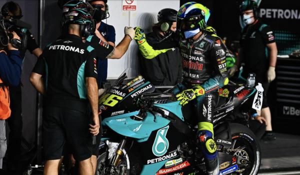 Valentino Rossi chiude 16° il Gp di Doha