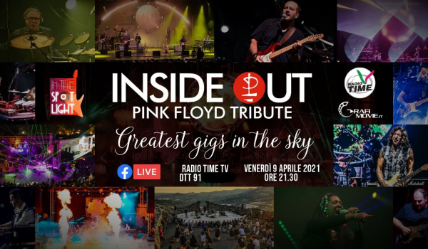 Inside Out – Pink Floyd Tribute Show: appuntamento su Radio Time TV
