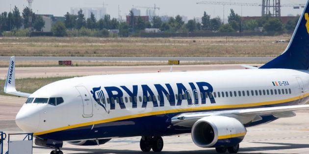 lite sul volo Ryanair