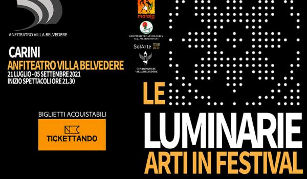 """Radio Time è radio ufficiale de """"Le Luminarie – Arti in Festival"""""""