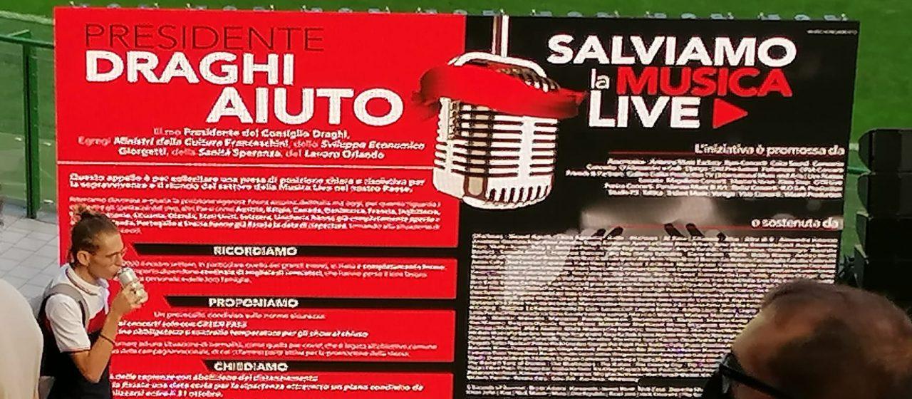 Musica Live, a San Siro si tenta di salvare la barca che affonda