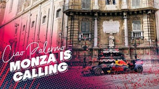 Max Verstappen tra le vie di Palermo: il video della Red Bull